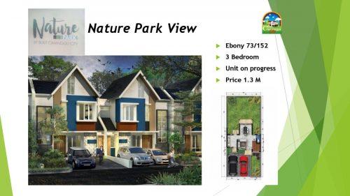Nature Park View Tipe Ebony